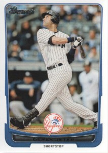 2012 Bowman #1 - Derek Jeter