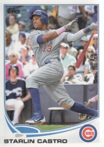 2013 Topps #113 - Starlin Castro