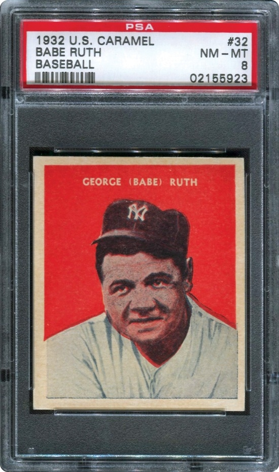 Babe Ruth 1932 U.S. Caramel