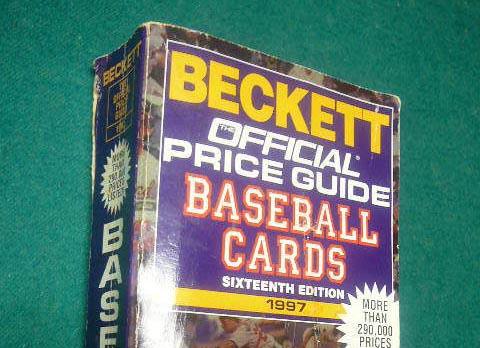 Beckett Official Price Guide Baseball Cards