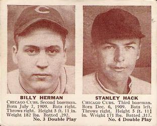 Billy Herman and Stan Hack