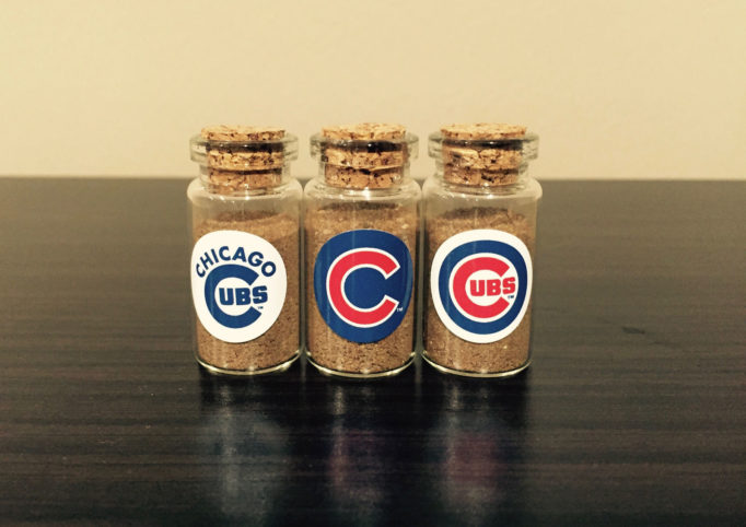 Chicago Cubs official World Series dirt