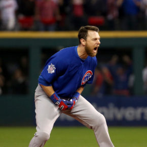 Ben Zobrist RBI double, World Series (Brian Cassella / Chicago Tribune)