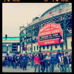 Courtney Lucien's photo of Wrigley Field