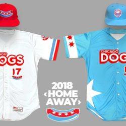 Chicago Dogs uniform design 2018