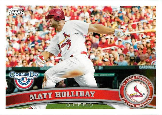 2011 Topps Matt Holliday