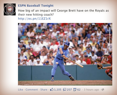 How big of an impact will George Brett have on the Royals as their new hitting coach?
