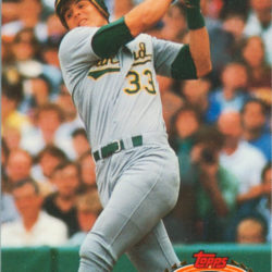 1991 Stadium Club Jose Canseco
