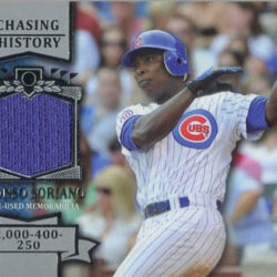 2013 Topps Ser 2 Jersey #CHR-AS Alfonso Soriano Cubs Chasing History Relic