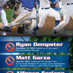 2013 Cubs calendar