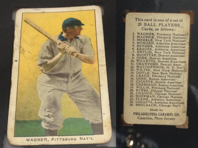 1909 E95 Honus Wagner SGC 20