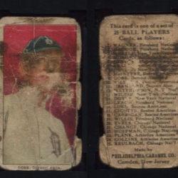 1909 E95 Philadelphia Caramel Ty Cobb