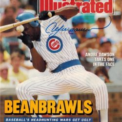 Andre Dawson Beanbrawls Sports Illustrated cover