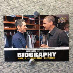 Ichiro meets President Obama
