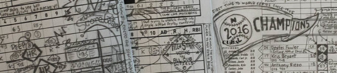 Having fun with baseball scorecards