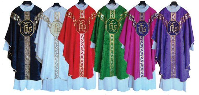 Catholic vestments