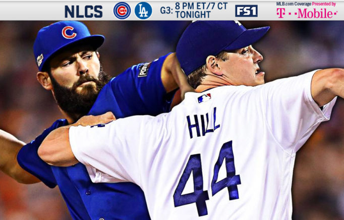Rich Hill Game 3 2016 NLCS