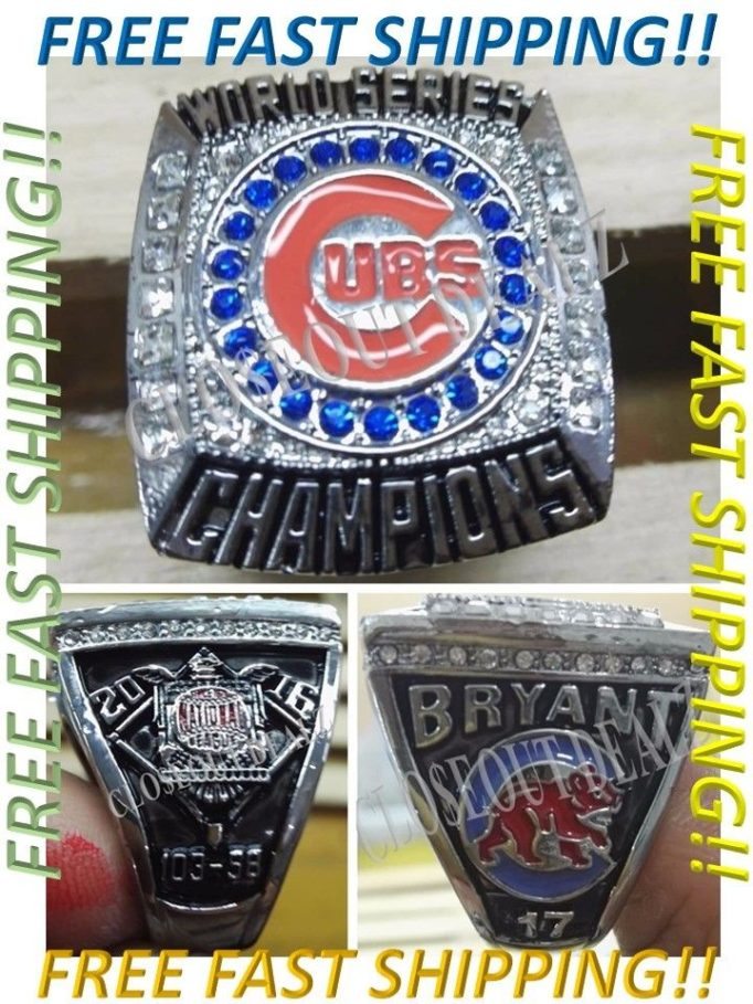 Oddball Chicago Cubs World Series Champions Memorabilia 57 Hits