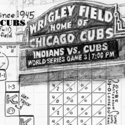 Game 3 scorecard for 2016 World Series