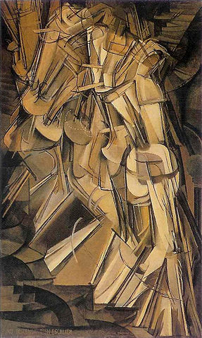 Marcel Duchamp's Nude Descending a Staircase, No. 2