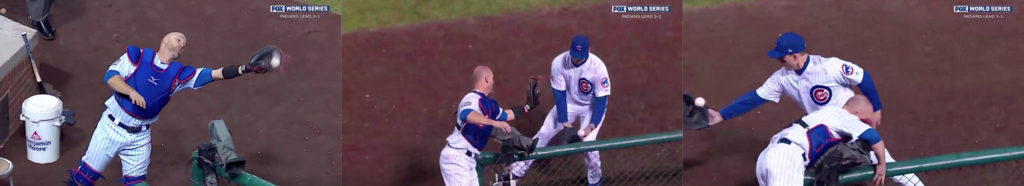Video reference for David Ross & Anthony Rizzo catch