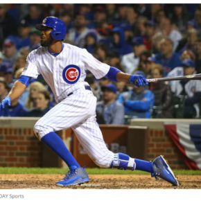 Dexter Fowler hits home run in game 4, 2016 World Series