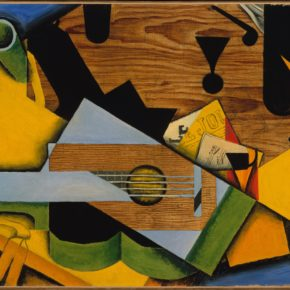 Still Life with a Guitar, 1913, by Juan Gris