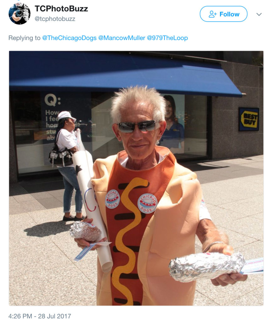 Possible uniforms for the Chicago Dogs