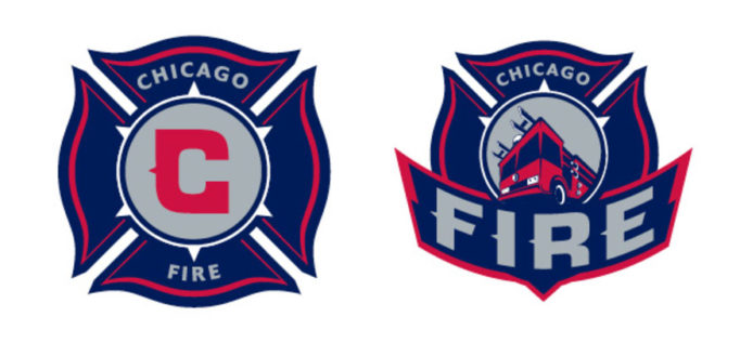 Adrenalin also designed the Chicago Fire's logo