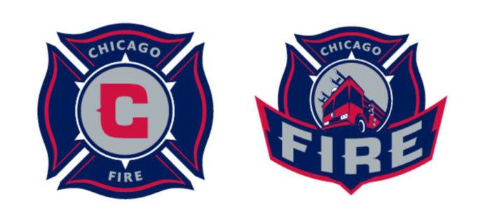 Adrenalin also designed the Chicago Fire's logo