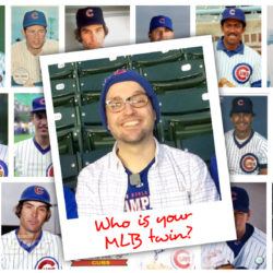 Use Google images to find your MLB twin
