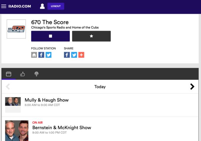 Sports Radio 670 The Score