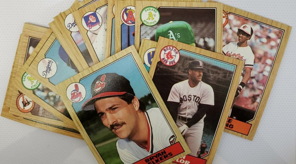 1987 Topps assorted pile