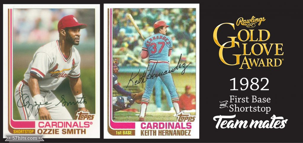 1982 Topps #210 Keith Hernandez, #109T Ozzie Smith