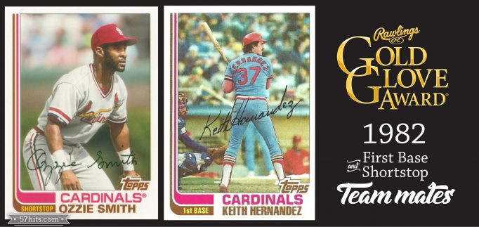 1982 Topps #210 Keith Hernandez, #109T Ozzie Smith