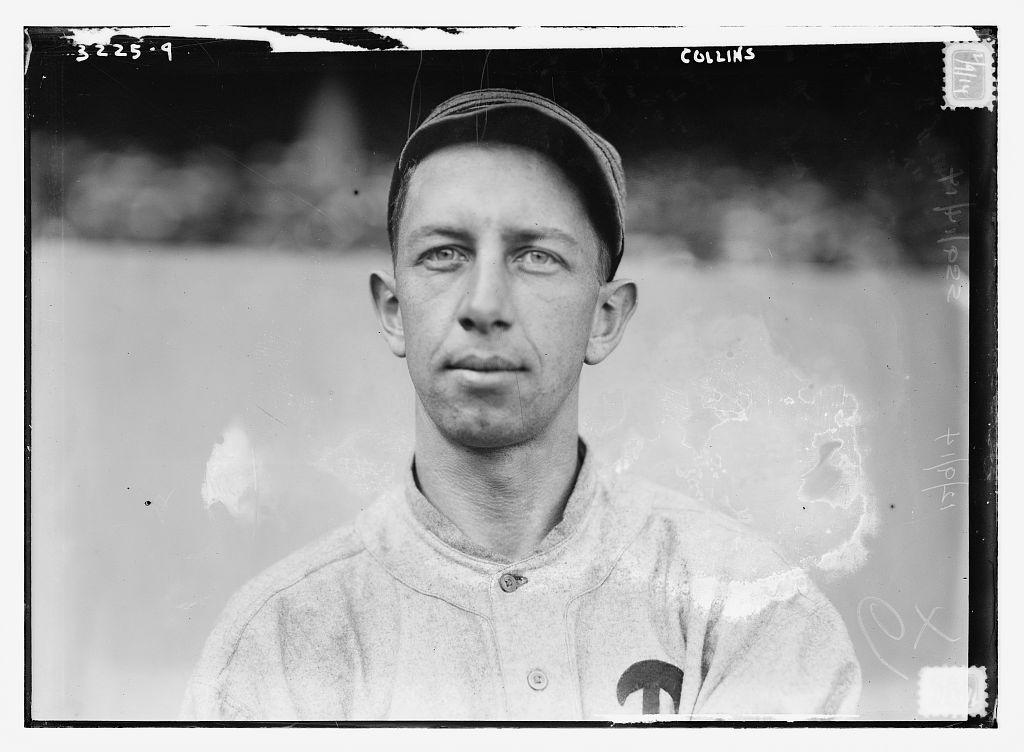 1913 Eddie Collins Philadelphia Athletics Library of Congress