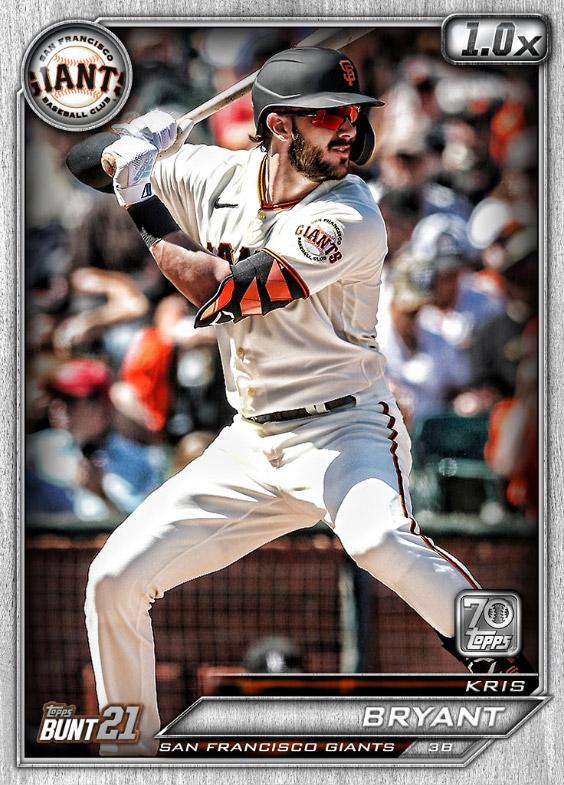 Kris Bryant: Topps Bunt 2021 Base Series 2: #164548 (San Francisco Giants)