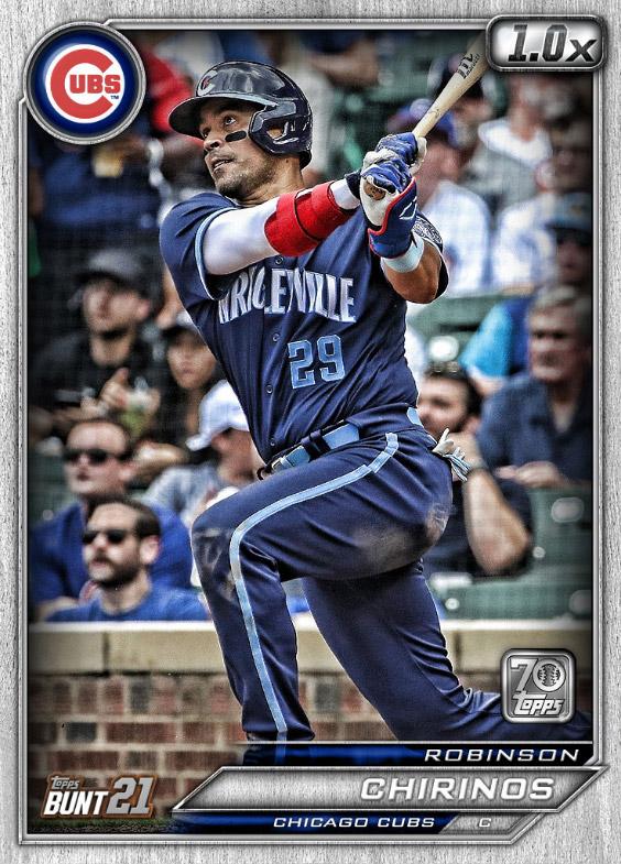 Robinson Chirinos: Topps Bunt 2021 Base Series 2: #163558 (Chicago Cubs)