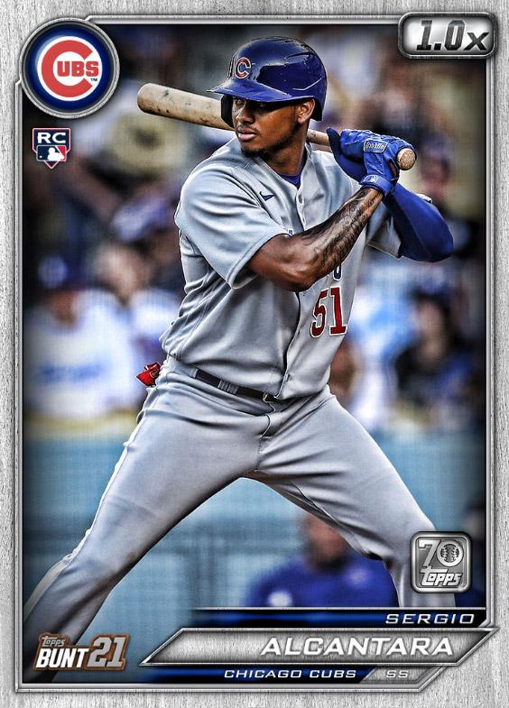 Sergio Alcantara: Topps Bunt 2021 Base Series 2: #163563 (Chicago Cubs)
